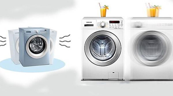 Cách khắc phục máy giặt có hiện tượng rung mạnh và kêu to