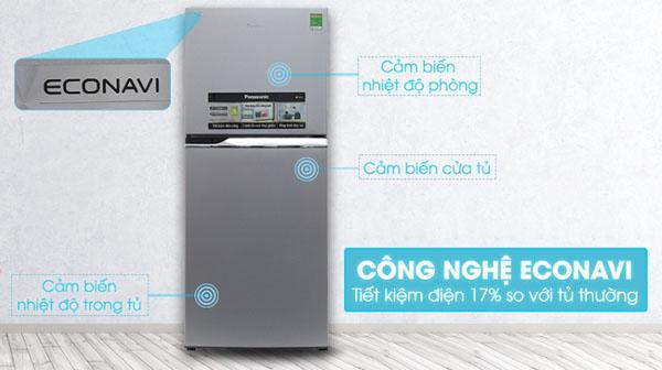 Công nghệ ECONAVI tiết kiệm điện trên tủ lạnh Panasonic
