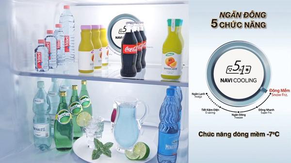Cách sử dụng chức năng cấp đông mềm trên tủ lạnh Aqua