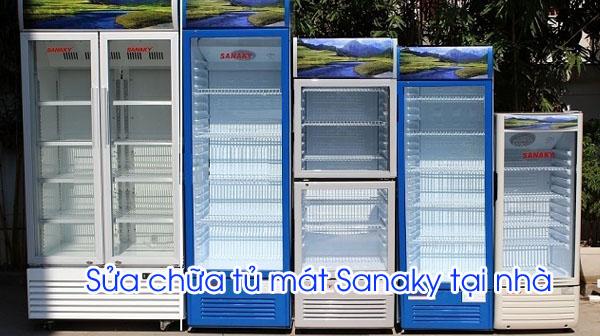 Sửa tủ mát Sanaky tại nhà