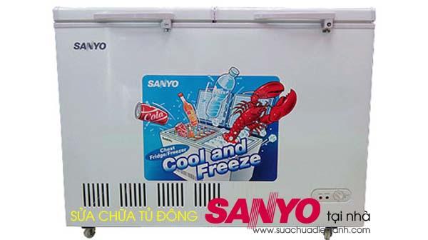Sửa chữa tủ đông Sanyo