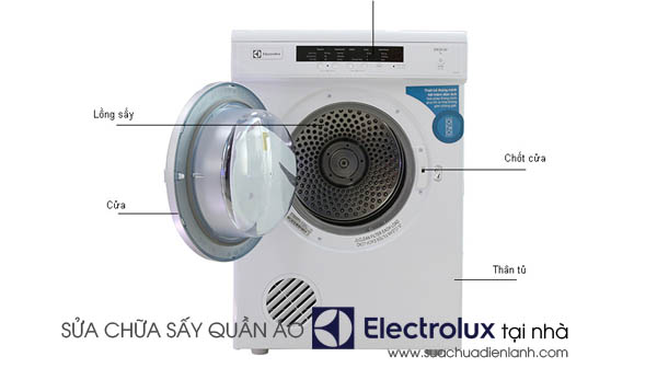 Sửa chữa máy sấy quần áo Electrolux