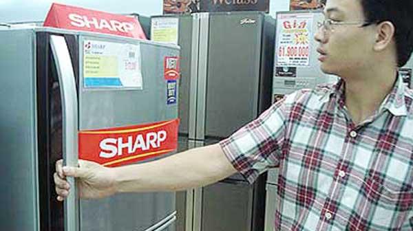 Sửa chữa tủ lạnh Sharp tại Hà Nội