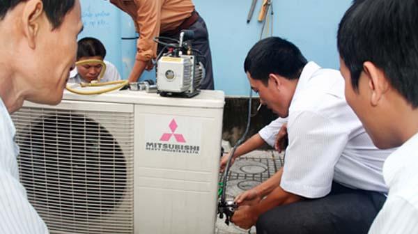 Sửa chữa điều hòa Mitsubishi Electric
