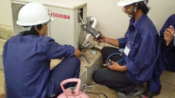 Sửa chữa điều hòa Toshiba