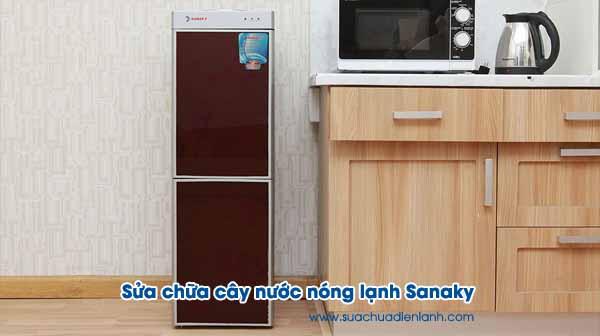 Sửa chữa cây nước nóng lạnh Sanaky