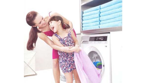 Sửa máy giặt giặt quần áo không sạch