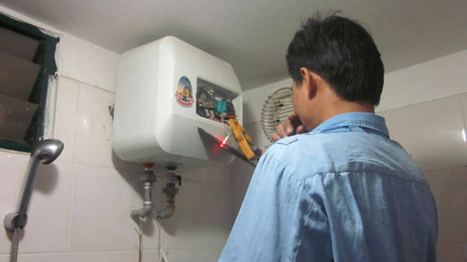 Sửa chữa bình nóng lạnh tại Hải Dương